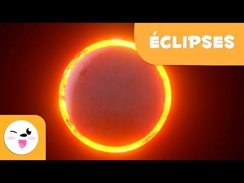 Les éclipses pour