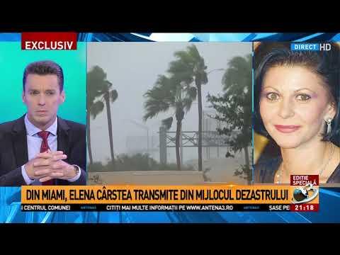 """Elena Cârstea, în mijlocul dezastrului provocat de uraganul Irma. """"E absolut oribil să vezi toa"""