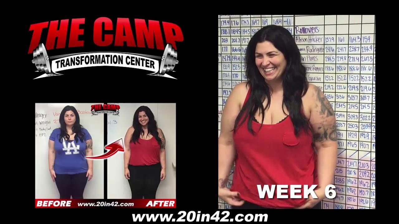 La Mirada Weight Loss Fitness 6 Week Challenge Results Vanessa