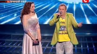 Х ФАКТОР 3   Владимир ГЕРАСИМЕНКО Гала концерт 05 01 13