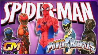 Power Rangers Vs Spiderman - Kids Parody