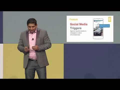 Global Insurance Accelerator 2018 final presentation - InsuredMine