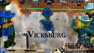 lego american civil war  the siege of vicksburg 1863