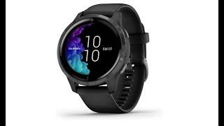 |Cyber Monday 2019| Garmin Venu, GPS Smartwatch with Bright Touchscreen Display, Black, 010-02173-11