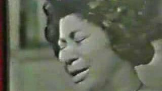 Mahalia Jackson--How I got over LIVE