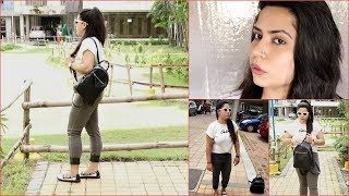 How To Look Simple/ Decent/ Attractive in 2min For College || Go Casual with Less Makeup