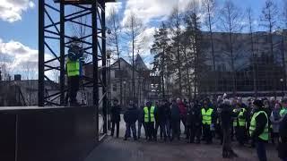 47news: Митинг во Всеволожске рабочих Форда 12 апреля