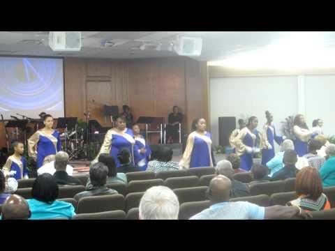 Holy Spirit Rain Down praise dance by PWOP