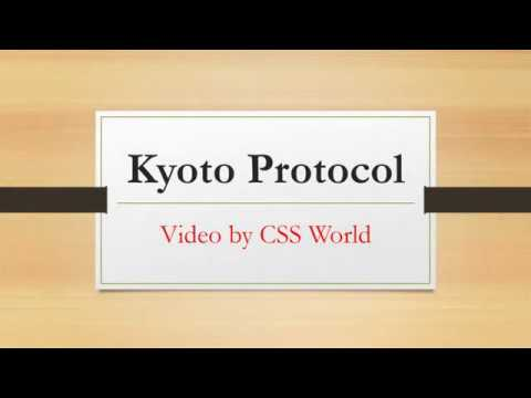 Kyoto Protocol  UNFCCC to Kyoto Protocol   CSS World  