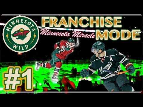 """NHL 18 Minnesota Wild Franchise Mode #1 """"Minnesota Miracle Cyn"""""""