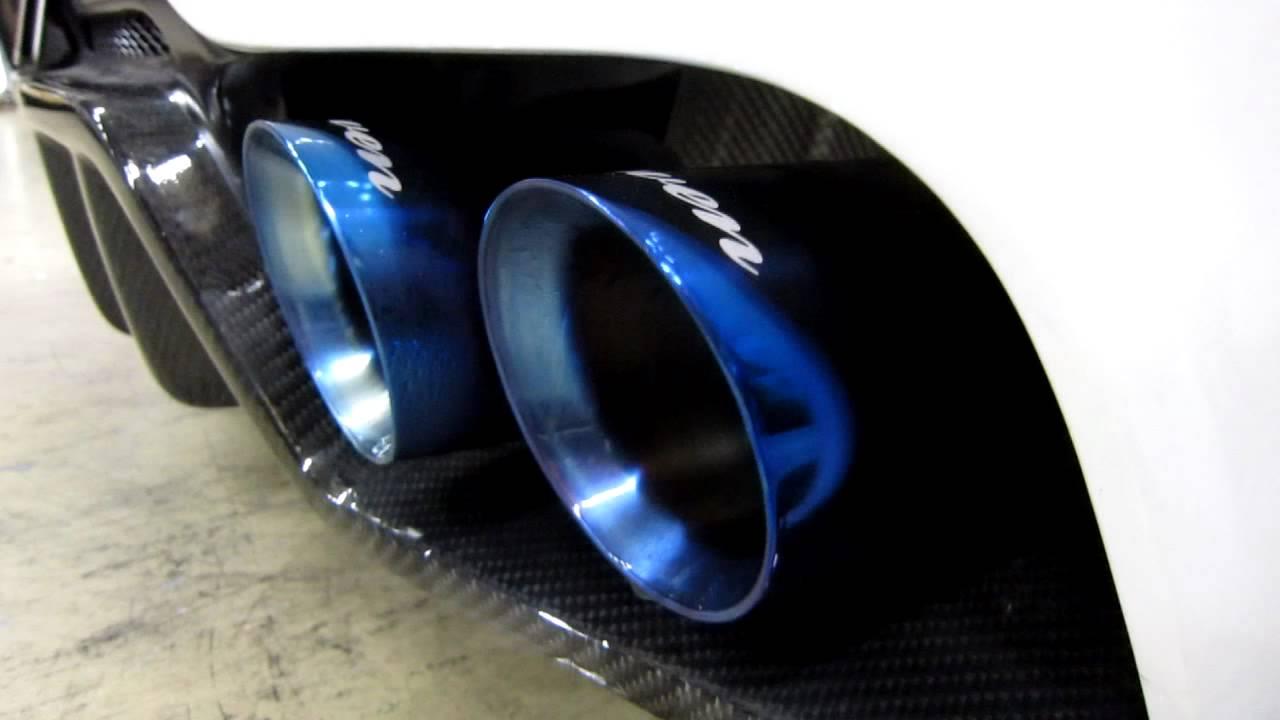 Rowen Z4(e89) Exhaust System À�premium01tr Heat Blue Titan