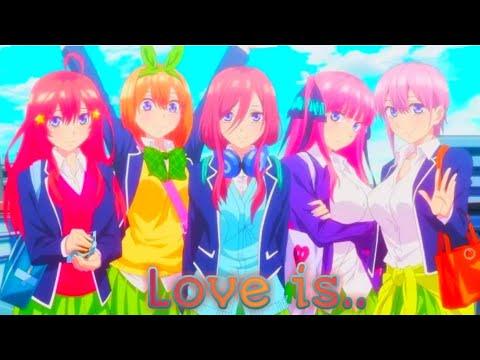 Аниме клип: Love is.. (Егор Крид) Пять невест.