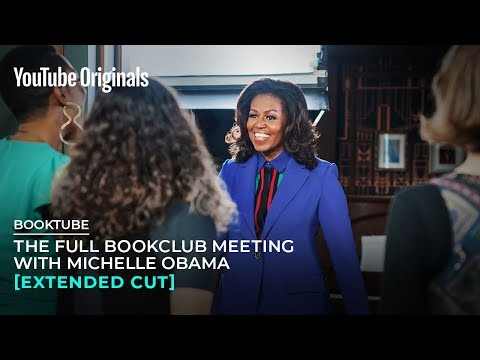 Michelle Obama takes her 'Becoming' tour to BookTube, discusses memoir with YouTube stars