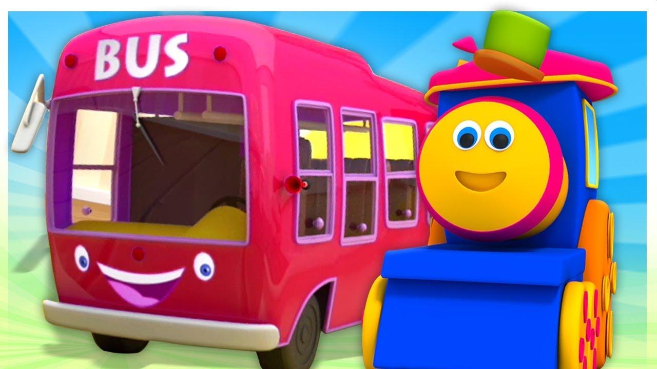 Tren Bob – Otobüsün Tekerleri -  Çocuk ve Bebek Şarkıları | Kids TV Türkçe