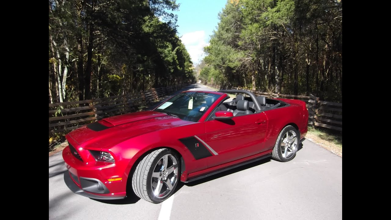 Roush Stage 3 >> 2014 Roush Stage 3 Convertible - Ford of Murfreesboro ...