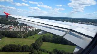 Air Berlin Airbus A319-100 DUS-HAM (2) Landing and Taxi In Part 4/4