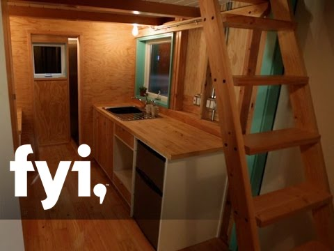 Tiny House Hunting: Aliceu0027s Mobile Loft (S1, E13) | FYI