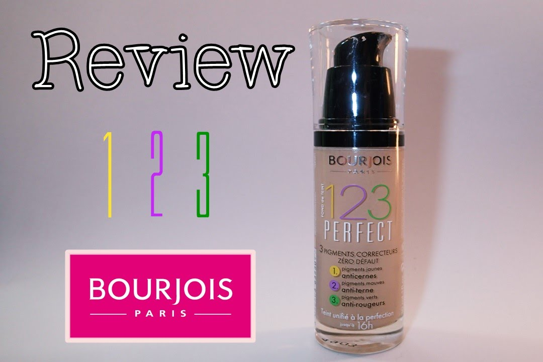 123 perfect bourjois review youtube. Black Bedroom Furniture Sets. Home Design Ideas