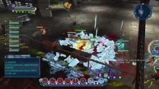 DCUO Bombshells Paradox   OP RAGE SOLO TANKING   NO WIPES   Tank PoV