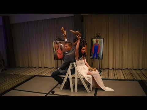 Marc and Jessica - Newlywed Shoe Game