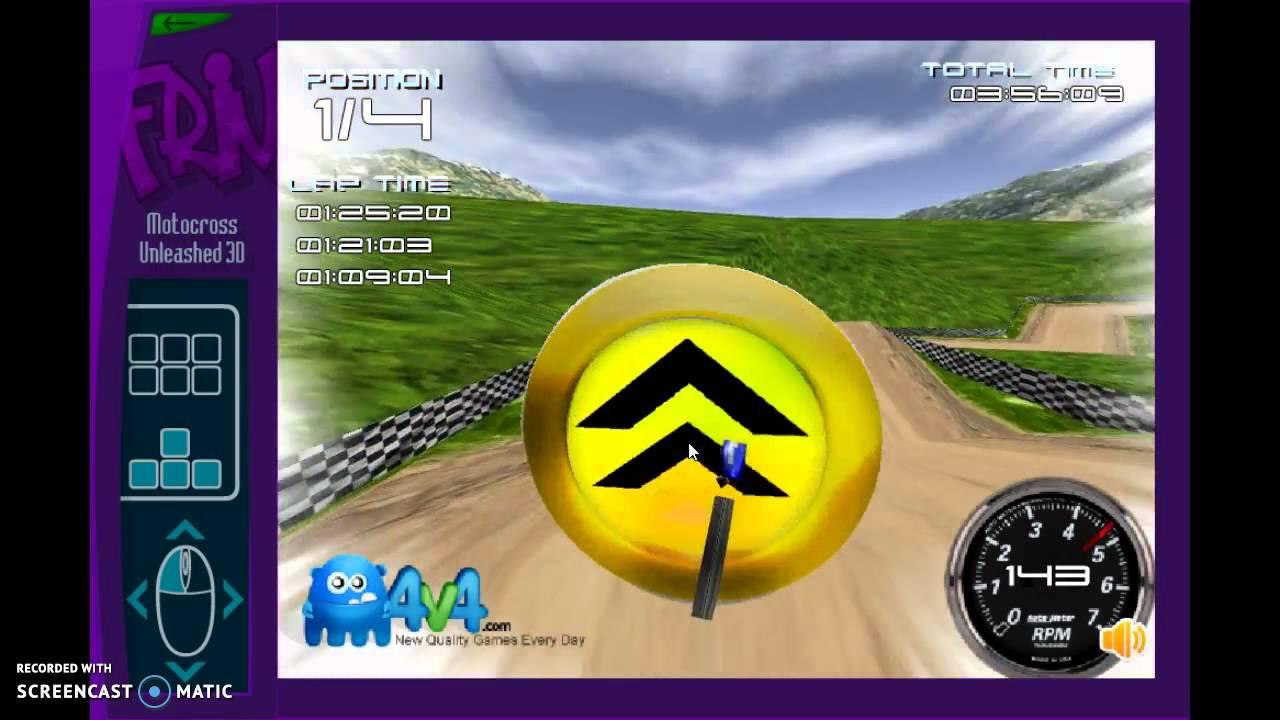 Jugando Juegos Friv Motocross Unleashed 3d Youtube