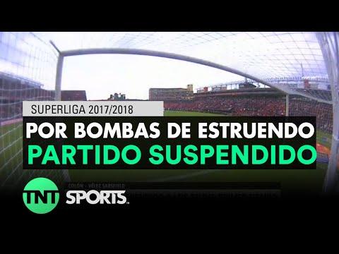 Por estos incidentes se suspendió el Colón vs Vélez