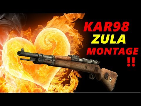 KAR98 SNİPER MONTAGE | ZULA