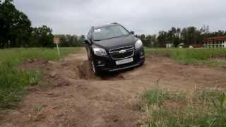видео Новый кроссовер Chevrolet Tracker