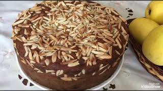 Olmali pirog/Яблочный пирог
