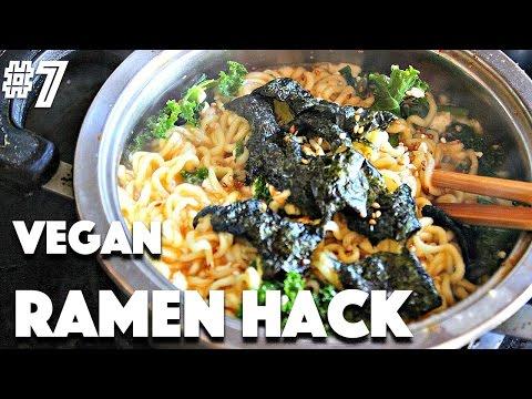 VEGAN RAMEN HACK | #7 (30 Videos in 30 Days) ♥ Cheap Lazy Vegan