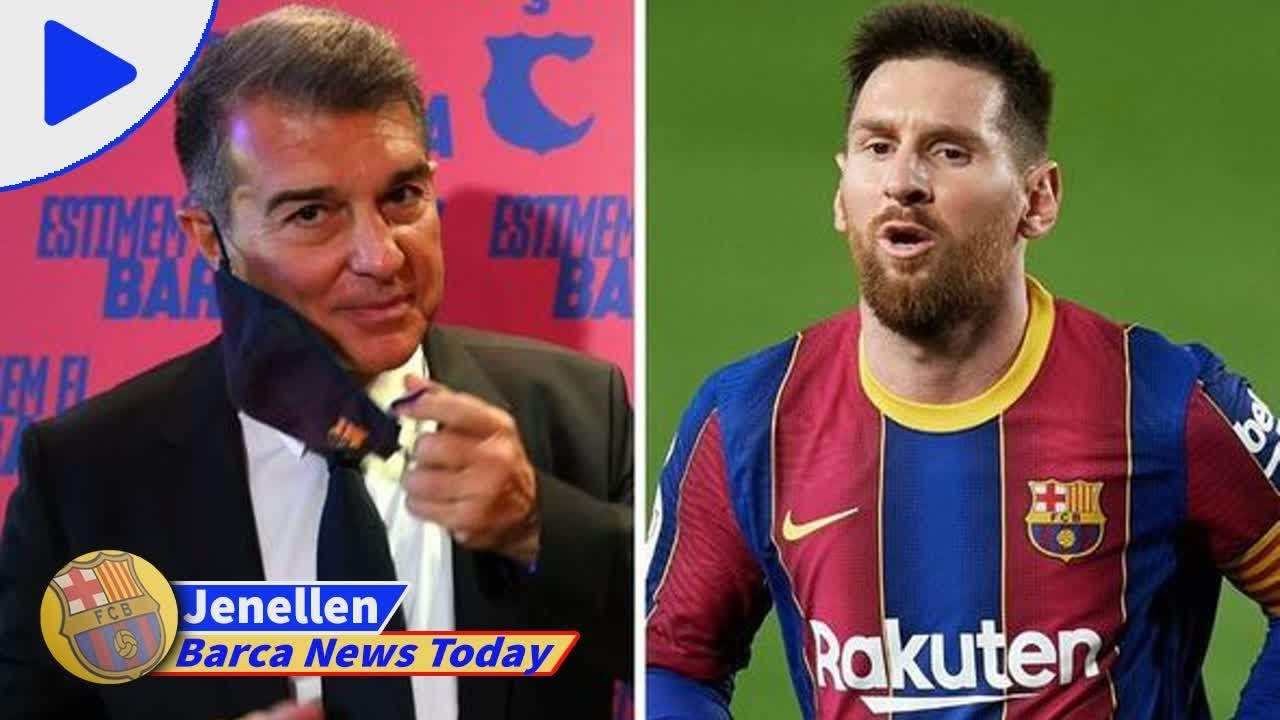 Download Lionel Messi has already sent Joan Laporta 'clear sign' on signing new Barcelona contract - new...