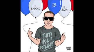 DJ Snake ft. Lil Jon- TURN DOWN FOR WHAT (BASS BOOSTED ORIGNAL SPEED)