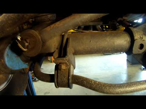 Early Bronco Sway Bar