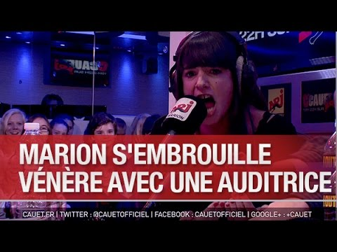 Marion s'embrouille vénère avec une auditrice - C'Cauet sur NRJ