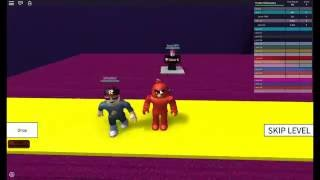 Lets Play ROBLOX|NYAN CAT IN SPEED RUN!?! ft.CreeperGaming|