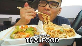 How To Enjoy Thai Food Mukbang