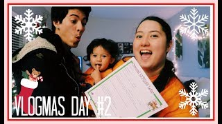 WRITING OUR LETTER TO SANTA // Vlogmas Day 2