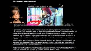 Rihanna Songs - RepRightSongs