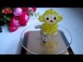 水晶串珠 作品欣賞 小猴水晶鎖骨鏈