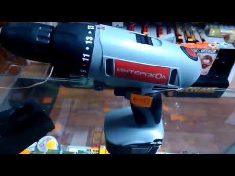 Новый Аккумуляторный шуруповерт Интерскол ДА-12 ЭР-01