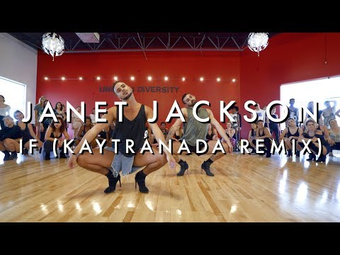 Masterclass | Yanis Marshall | Janet Jackson - If (Kaytranada Remix)