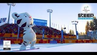 Steep - Японская сакура и зимние олимпийские игры в Южной Корее
