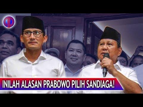 Tak Terdug4! Inilah Alasan Prabowo Pilih Sandiaga!