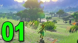 Zelda: Breath of the Wild - Part 1 - Wake Up, Link! (Nintendo Switch Gameplay)