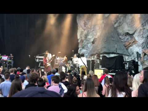 1st Time The All American Rejects perform Sweat live