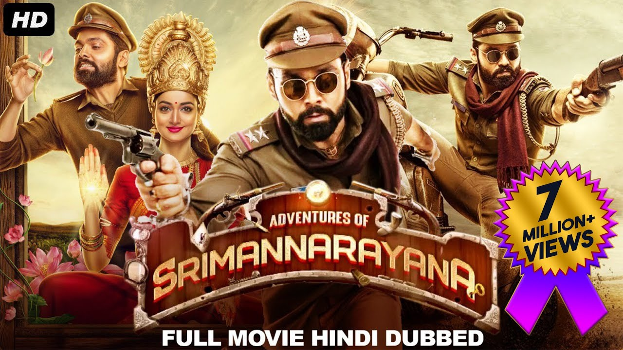 Download ADVENTURES OF SRIMANNARAYANA (2021) New Released Hindi Dubbed Movie | Rakshit Shetty | South Movie
