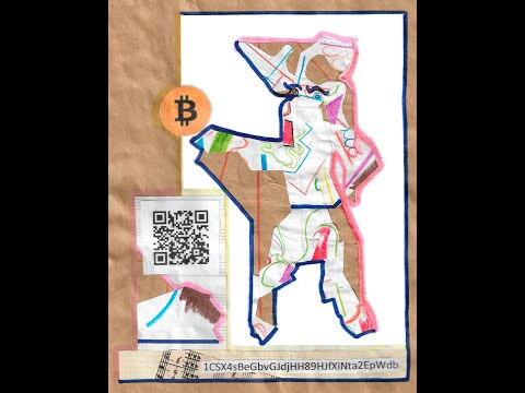 Bitcoin Wallet Artwork Dan Otsuki Unique Piece of Art With Blockchain Technology BTC Cryptocurrency