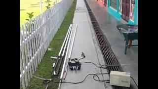 DIY Tiang Bendera Malaysia.. welding sendiri..