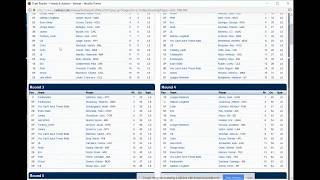 094 The 2018 A&F Dynasty Baseball Slow Draft