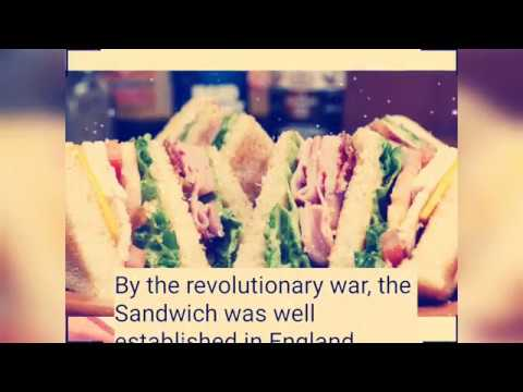 Invention of the Sandwich
